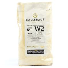 Chocolate Callets Callebaut 1kg W2NV White - Infusions4chefs