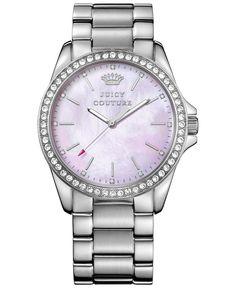 Juicy Couture Women's Stella Stainless Steel Bracelet Watch 40mm 1901263