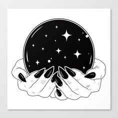 Crystal Ball Framed Art Print by Natasha Sines - Vector Black - Tattoo Drawings, Art Drawings, Art Tattoos, Ball Drawing, Drawing Drawing, Bild Tattoos, Desenho Tattoo, Witch Art, Book Of Shadows