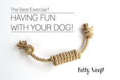 Dog Toys made out of Organic Hemp Rope - For Tug of War - Retrieving - Fetch (6.50 EUR) by BettyWoof