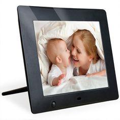 NIX X08D 8 inch Hi-Res Digital Photo Frame with Motion Sensor : Digital Picture Frames : #Best SelleR in Digital Picture Frames
