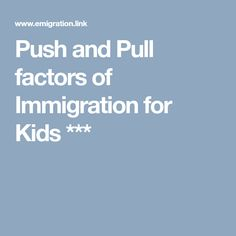 Group actvity lesson on the integumentary system teaching push and pull factors of immigration for kids fandeluxe Images