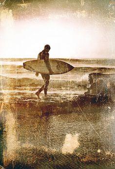 Vintage Surfer