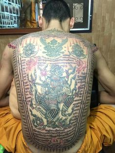 มัจฉานุ Muay Thai Tattoo, Khmer Tattoo, Piercings, Sak Yant Tattoo, Thai Art, Body Painting, Tatoos, Tatting, Tattoo Designs