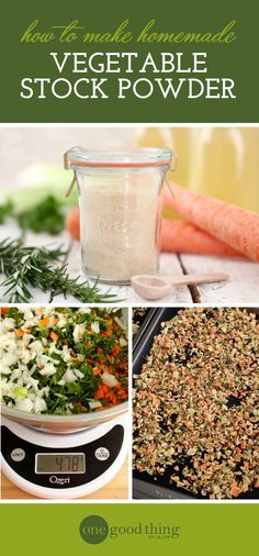 Learn how to capture the flavor of homemade vegetable stock in powder form! It's easy to make, and it will keep for months.