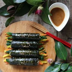 Home Recipes, Asian Recipes, Cooking Recipes, Healthy Recipes, Ethnic Recipes, Kimbap, Korean Food, Diy Food, Japanese Food