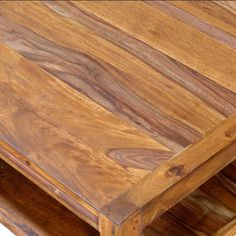 Maple Walnut Finished Hardwood Loft Coffee Table - Overstock™ Shopping - Great Deals on Coffee, Sofa & End Tables