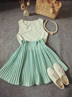 summer or spring, very fun and flirty