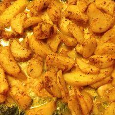 Spinazie met kip en kaas uit de oven - Lekker eten met Marlon