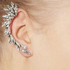 Cheap clip on earrings, Buy Quality ear cuff directly from China ear cuff fashion Suppliers: Right Ear Cuff Earrings Silver Plated Clip on Earrings Earcuff Earring Ear Cuffs for Women Girls Fashion Rhinestone Jewelry Cheap Earrings, Cuff Earrings, Rhinestone Earrings, Gemstone Earrings, Crystal Earrings, Clip On Earrings, Crystal Rhinestone, Cuff Jewelry, Full Ear Earrings