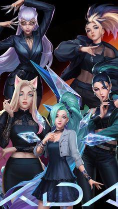 League Of Legends Video, Akali League Of Legends, Champions League Of Legends, League Of Legends Characters, Lol League Of Legends, Female Characters, Female Character Design, Character Art, Akali Lol