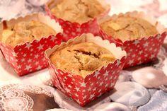 Muffins aux pommes et à la crème de marron