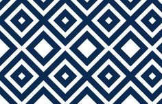 for media room -- navy diamonds fabric by mgterry on Spoonflower - custom fabric