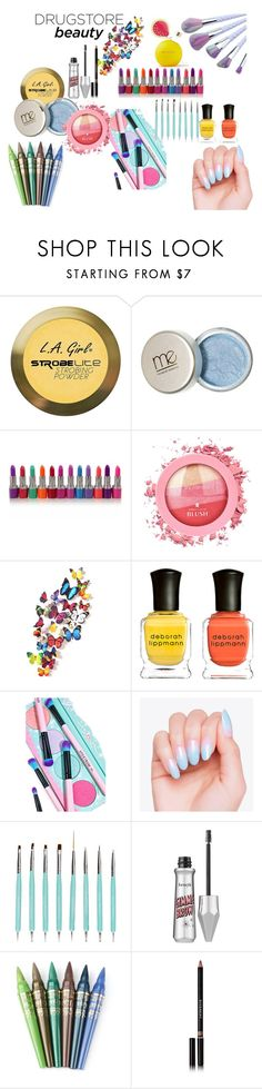 """colorful"" by krnas on Polyvore featuring beauty, Charlotte Russe, Deborah Lippmann, Spectrum Collections, Benefit, Givenchy and Aerie"