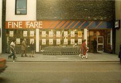 Brighton, London Road in the I remember Fine Fare! Childhood Images, Childhood Memories, 1970s Childhood, Those Were The Days, The Old Days, Uk History, I Remember When, Music Tv, Great Memories