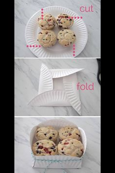 Quick Easy Cookie Basket