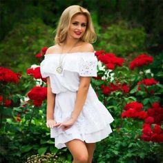 Летние платья, которые сильно молодят женщину Shoulder Dress, Health Fitness, Sports, Dresses, Women, Fashion, Health, Hs Sports, Vestidos