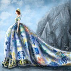 Illustration.Files: Dolce & Gabbana Alta Moda F/W 2014 Fashion Illustration by Shamekh