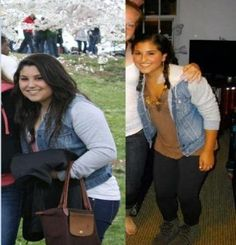 Before and after pictures of weight loss