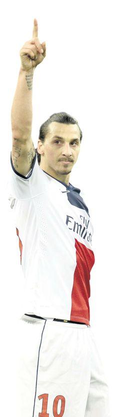 Zlatan Ibrahimovic, the world's best soccer player