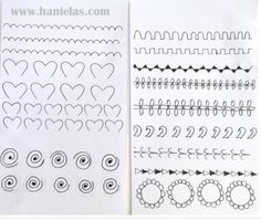 Practice Sheet From Hanielas Edible Cookies Cake Cupcake Cakes Decorating Techniques