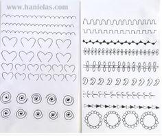 Practice Sheet from Hanielas