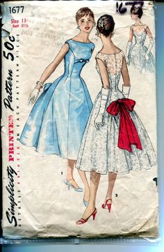 *Very* Audrey Hepburn, don't you think? #1950s #pattern