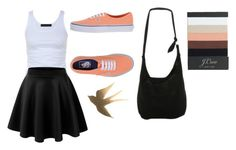 """Going to cruse night"" by makia115 ❤ liked on Polyvore featuring Tusnelda Bloch, Vans, Disney and J.Crew"