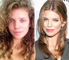 AnnaLynne McCord   On left: tweeting about natural beauty on May 4, 2012  On right: supporting the Somaly Mam Foundation in New York City on October 17, 2012