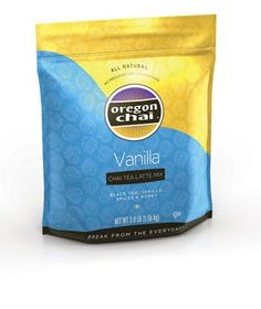 VANILLA CHAI TEA LATTE MIX: A Slightly sweeter version of our best-selling recipe with a vanilla profile. #oregon #chai #kerry #foodservice
