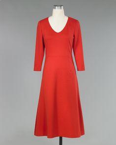 Ponte Knit Swing Dress by Shape fx - Spiegel
