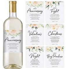 Are you looking to give the bride and groom something that isn't already on their registry? Check out these 28 bridal shower gifts that are totally one-of-a-kind! #bridalshowergifts #uniquebridalshowergifts #bridalshowergiftideas #ModernMOH Personalized Bridal Shower Gifts, Bridal Shower Gifts For Bride, Bridal Shower Wine, Original Bridal Shower Gifts, Personalized Wine Bottles, Wedding Gifts For Bride And Groom, Wine Bottle Gift, Wine Bottle Labels, Wine Gifts