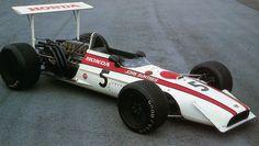 Honda RA 301 (1968) - Automobiles Classiques Février / Mars 1989
