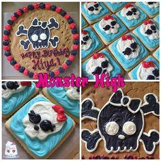 #monsterhigh #birthday #cookiecake #cookies