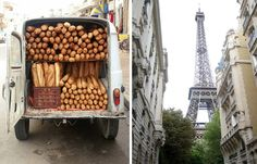 Forget running with the Bulls in Spain, I am running after the bread truck in France!