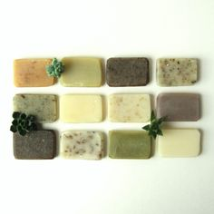 Handmade Soap Sample Pack - Some Of Each Please - 12 Vegan Soap Samples gift set made with Organic Ingredients Spearmint Tea, Things Organized Neatly, Savon Soap, Cinnamon Coffee, Vegan Soap, Organic Soap, Home Made Soap, Natural Cosmetics, Handmade Soaps