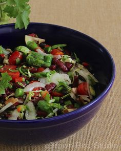 This delicious and healthy spring salad emphasizes Dr. Joel Fuhrman's Eat-to-Live superfoods:  beans, brussels sprouts, onion, tomatoes, mushrooms, peppers and asparagus. Make enough of the basic s...