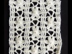 Crochet : Punto Calado Flor de 6 Petalos. Parte 1 de 2, My Crafts and DIY Projects
