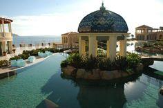 The Lagoon at the Monte Carlo Bay Hotel, Monaco.