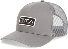 RVCA Ticket II Trucker Hat Maintenance Logo, Ticket, Patches, Nordstrom, Hats, Classic, Polo, Makeup, Clothing