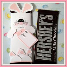 Bunny candy bar wrapper