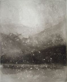 Norman Ackroyd - 'Evening Snow, Coniston'