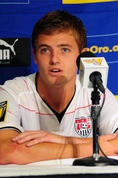 Columbus Crew Winger and USMNT player Robbie Rogers: former US Youth Soccer ODP player.