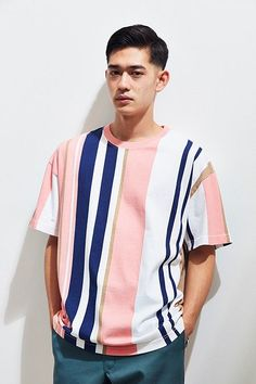 Men's Work Fashion That Will Turn Heads Trendy Mens Fashion, Summer Outfits Men, Vertical Stripes, Work Fashion, Fashion Hair, Fashion Clothes, Fashion Rings, Fashion Boots, Fashion Outfits