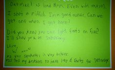Quite Possibly The Best Letter From Camp, Ever