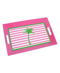 DEI Palm Tree Stripe Serving Tray. Serving TraysKitchen AccessoriesPalm ...