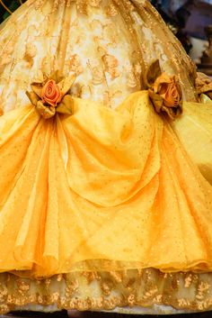 Belle's golden dress beauty and the beast dreams disney beau Belle Aesthetic, Disney Aesthetic, Princess Aesthetic, Character Aesthetic, Princess Daisy, Princess Theme, Princess Anne, Princess Dresses, Belle Cosplay