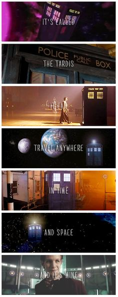 The TARDIS | Doctor Who