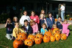 Pumpkin Carving Contest - Thanksgiving Weekend