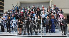 Now That's A Lot Of Mass Effect Cosplayers!